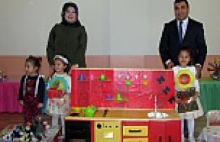 Yıldız Eskicioğlu Anaokulu'nda aile katılım...