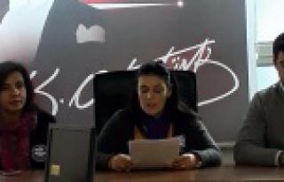 CHP Kadın Kollarından Kadına Şiddetle ilgili açıklama