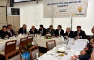 AK Parti STK'larla buluştu
