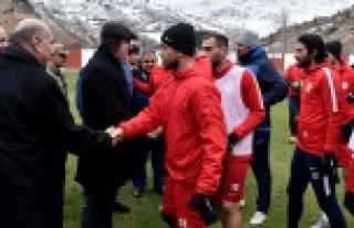 Gümüşhanespor Nazilli Belediyespor maçının hazırlıklarını...