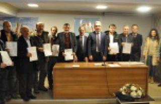 Gümüşhane'de 12 arıcıya organik tarım sertifikası...