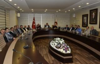 Belediye Meclisi Mayıs ayı toplantıları yapıldı