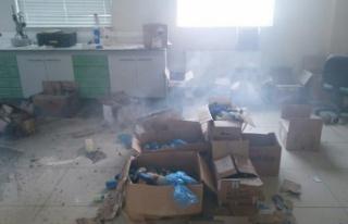 Gümüşhane Üniversitesi laboratuvarında patlama:...