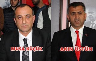 MHP'nin adayları Küçük ve Üstün oldu