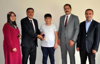 9. Matematik ve Fen Bilim Olimpiyatları ödül töreni...