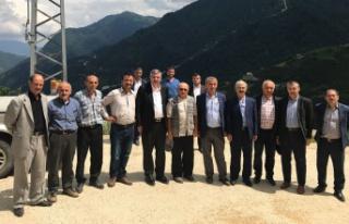 Milletvekili Pektaş Kürtün'de