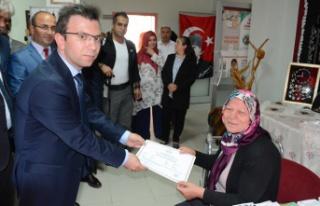Torul'da sertifika heyecanı