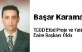 TCDD'ye Gümüşhaneli Daire Başkanı