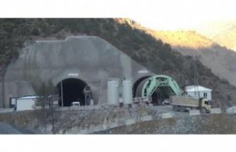 Yeni Zigana tünelinin yüzde 50'si tamam