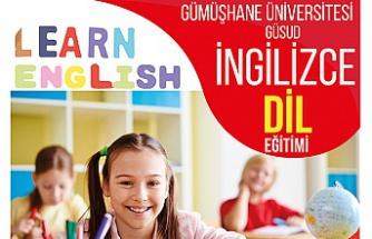 Gümüşhane Üniversitesinde 11-14 yaş grubuna dil eğitimi verilecek