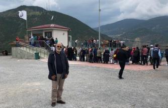 Gümüşhane'nin turizm merkezleri bayram tatilinde doldu taştı