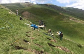 Zigana Dağı'na çığ önleme çalışmaları başladı
