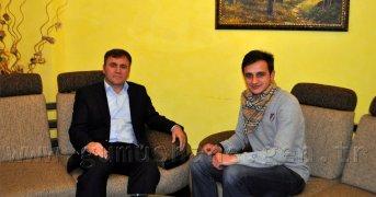 AK Parti İl Başkanı Ercan Çimen Ahmet Öksüz'e Konuştu