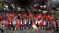 Gümüşhane'de Demokrasi Nöbeti 23.gününde