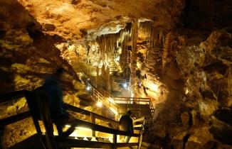 Yer altındaki gizemli dünyayı 120 bin kişi ziyaret etti