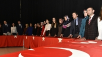 Gümüşhane'de 24 Kasım Öğretmenler Günü kutlandı