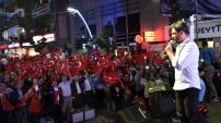 Gümüşhane'de Demokrasi Nöbeti Uğur Işılak'la sona erdi