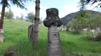 400 yıllık mezarlıkta kurşun izleri