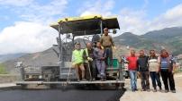 Süleymaniye Mahallesi yolunda asfalt çalışmaları başladı