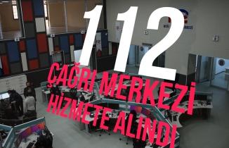Gümüşhane 112 Acil Çağrı Merkezi hizmete alındı