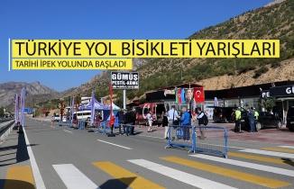 Türkiye Yol Bisikleti Yarışları tarihi ipek yolunda başladı