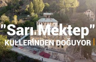 142 yıllık Sarı Mektep'te restorasyon çalışmaları devam ediyor