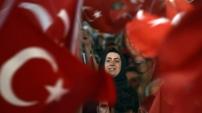 Gümüşhane'de demokrasi nöbeti 18.gününde
