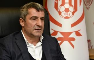 Gümüşhanespor Kulübü Başkanı Kurban Karagöz'den basın toplantısı