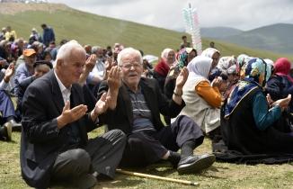 Teröre inat binlerce kişi 173.Güvende Yayla Şenliğinde buluştu