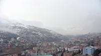 Gümüşhane'de kar yağışı - 14 Ocak 2016