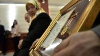 Gümüşhane'de Devlet Övünç Madalyası töreninde gözyaşları sel oldu