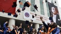 Gümüşhane Üniversitesinde 9.mezuniyet sevinci