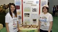 Gümüşhane'de öğrenciler odun külünden sabun yaptı