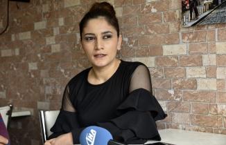 Azerbaycanlı gelin Özkürtün'de lokanta açtı