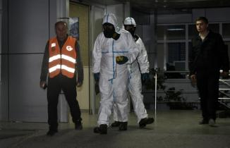 Gümüşhane Üniversitesinde KBRN ekipleri herhangi olumsuz bir bulguya rastlamadı