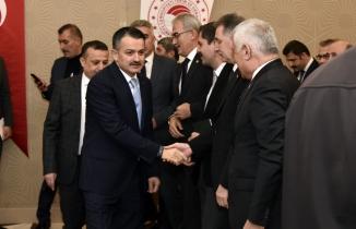 Tarım ve Orman Bakanı Bekir Pakdemirli Gümüşhane'de