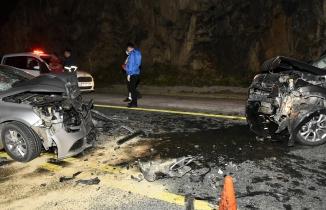 Zigana dağında feci kaza: 1 ölü, 4 yaralı