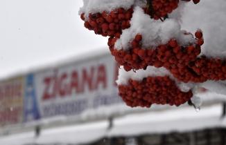 Zigana dağı 26 Ekim'de beyaz gelinliğini giydi