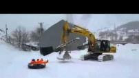 Böyle Olur Gümüşhanelinin Kar Eğlencesi