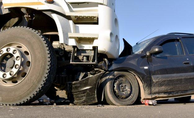 Gümüşhane'de kaza: 1 ölü, 4 yaralı
