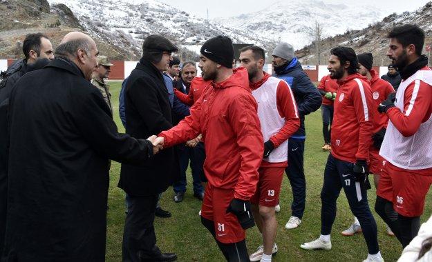 Gümüşhanespor Nazilli Belediyespor maçının hazırlıklarını sürdürüyor