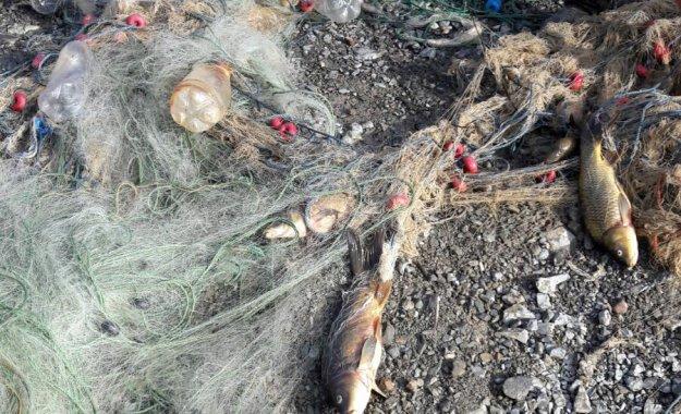 Gümüşhane'de kaçak balıkçılara darbe