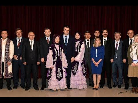 Gümüşhane'de 'Kazakistan ve Ahmet Yesevi' konulu konferans düzenlendi