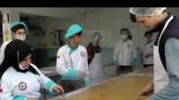 Geleceğin pestil-köme üreticileri işbaşında