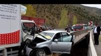 Gümüşhane'de kaza: 3 yaralı - 20 Nisan 2016
