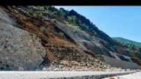 Gümüşhane-Trabzon karayolunda heyelan