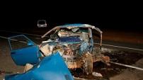Gümüşhane'de feci kaza: 8 yaralı