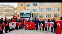 Gümüşhane'de KYK'lı öğrencilerden Halep'e büyük vefa