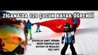 Gümüşhane'de Yarıyıl Tatilinde 120 Çocuk Kayak Öğrendi