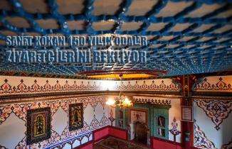 Sanat kokan 150 yıllık odalar